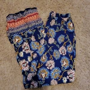 Womens Forever 21 Paisley Print Pants